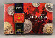 Canada 1998 Proof Set With Rcmp Commemorative Dollar 162186