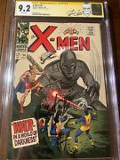 X-men 34 7/67 Cgc 9.2 White Ss Stan Lee Nuce High Grade Signed Collectible