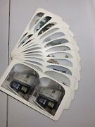 12 English Antique Stereograph / Stereo Viewer Cards 1
