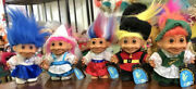 Lot Of 5 Early 90andrsquos Russ Around The World 5andrdquotrolls. All Original With Tags.