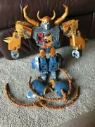 Transformers 2010 Supreme Class Unicron Exclusive Missing Parts