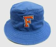 Florida Gators Ncaa Blue Fishing Bucket Adult Hat Size S/m New By Drew Pearson
