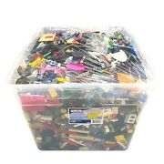 Huge 34lbs Lot Lego Bin - Mixed Assortment Of Pieces/ Different Sets