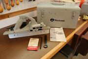 Porter Cable Rockwell 126 Planer Complete With Case - Porta Plane - Tools