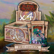 Pre-order Tales Of Aria 1st Edition Case 4 Booster Boxes Flesh And Blood Tcg