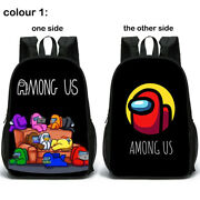 Game Character Double Side Multiple Pockets Large Capacity Backpack School Bag