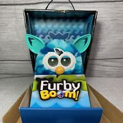 Hasbro Furby Boom Blue Wave 2013 Toy Pre-owned With Original Box