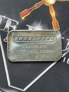 Extremely Rare Engelhard. Error Bar Only A Few Known