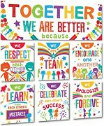 Classroom Banner Decorations And Poster Bulletin Board Set - Together We Are Bet