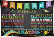 7x5ft Classroom Decorations Banner Backdrop For Teacher Student Back To School C