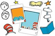 's Back To School Dr. Seuss Cat In The Hat Selfie Classroom Decorations, 15pc.