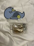 Factory Sealed Dooney And Bourke Mar44 Gd Duck Gold Tone Keychain Key Fob