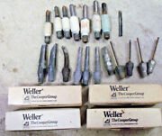 Soldering Tips And Parts - Weller Ungar Sidco