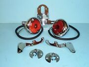 1938 1940 1941 1946 1947 1948 Ford Pickup Taillight Package Stainless Steel