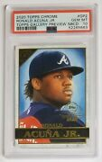 2020 Topps Chrome Gp2 Ronald Acuna Jr Topps Gallery Preview Nbcd Psa 10 Braves