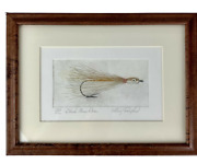 Larry Crawford Lure Hand Colored And Signed 133/200 Framed Print