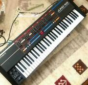 Roland Juno-106 Polyphonic Synthesizer Keyboard Tested Ex++ Rare
