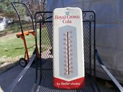Antique Royal Crown Cola Advertising Thermometer Working