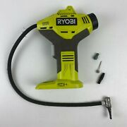 Ryobi P737 18v One+ Lithium Ion Power Inflator Tested Works