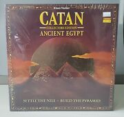 Catan Ancient Egypt Collectorand039s Edition Board Game New And Sealed Mayfair