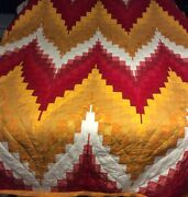 Handmade Queen Size Bargello Quilts Made To Order.