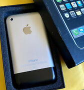 Collectible Apple Iphone 2g 1st Generation - 8gb - A1203 - Ma712ll/a - Mint