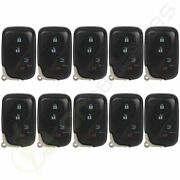 10 Replacement For 2007-2008 Lexus Es350 Keyless Entry Car Key Fob Remote