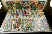 Mighty Thor Comic Book Lot 28 Copper Age Marvel Comics 340-363 Run And 367-370 Run