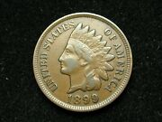 2021 Sale Xf 1899 Indian Head Cent Penny W/ Diamonds And Full Liberty 134w