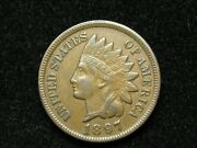 Summer Sale Xf 1897 Indian Head Cent Penny W/ Full Liberty And Diamonds 168w