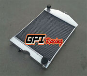5row Aluminum Radiator For 2x1 Ford 2n/8n/9n Tractor W/chevy 350 5.7l V8 Engine