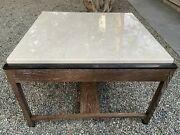 Joseph Jeup Signed Donghia Legacy Collection Table - 17 H X 25 1/2 X 25 1/2