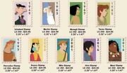 Preorder Disney Dec Menandrsquos Day Postage Stamp Pin Set Of 9 Le 250 Profile Pins