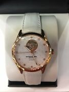 Authentic Raymond Weil Ladies Freelancer Automatic Alligator Leather Band Watch