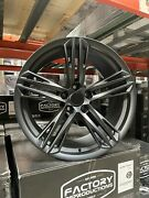 Fits 20 9 And 10 Camaro Zl1 1le Wheels Rims Satin Black For 5th Gen 14 15