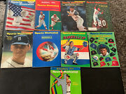 Sports Illustrated Vintage Baseball Cover Magazines Lot Of 9