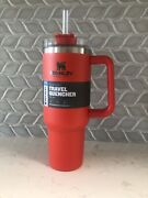 New Stanley Adventure Quencher Travel Tumbler Flame 40oz Sold Out