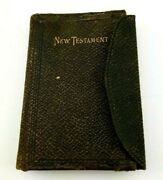 The New Testament - 1894 - New York - American Bible Society - Small Pocket Ver.
