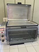 Kenmore Stainless Automatic Rotisserie Broiler Baker Grill Oven