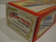 Walthers The Great Circus Train 11th Release 1967k Cars 53 And 60 - Kit