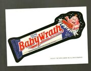 2011 Wacky Packages Postcards Rare Philly Non-sports Show Promo Card Baby Wrath