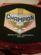 Wwe United States Championship Carrying Bag For Adult Size Replica Title Belt
