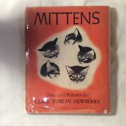 Mittens Signed 1st Ed 1936 Childrenand039s Book Clare Turlay Newberry Cats Kittens