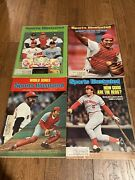 Sports Illustrated Johnny Bench Reds Lot Of 4