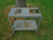 Vtg Delta Rockwell Unisaw Stand For Table Saw Jointer