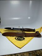 Us Wwii M3 Case Trench Fighting Knife Smooth Handle Original Scabbard Ww Ii 2