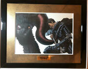 Berserk Limited Edition Cf Supporters Only Guts Zodd Character Fine Graph Mint