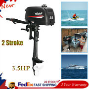 2 Stroke 3.5hp Outboard Motor Boat Engine Water Cooling System And Cdi Ignition
