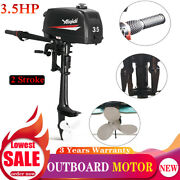 3.5hp 2 Stroke Boat Engine Outboard Motor Water Cooling System Cdi Ignition Sys