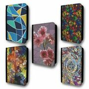 Uk Passport Holder Case Cover Stained Glass Collection 2